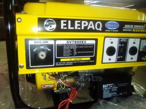 Elepaq 4.5KVA Key Start Generator - SV7800E2 Automatic | Electrical Equipment for sale in Lagos State, Lekki