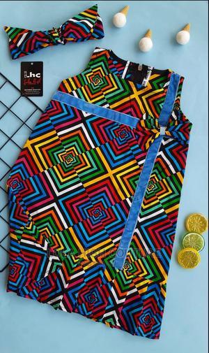 Ankara Shift Dress   Children's Clothing for sale in Ogun State, Obafemi-Owode