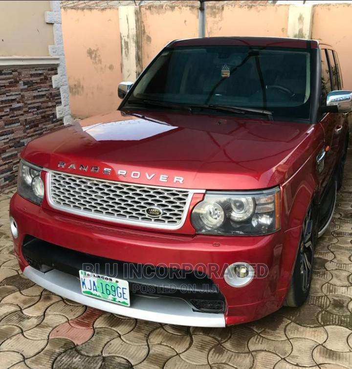 Land Rover Range Rover Sport 2007 HSE 4x4 (4.4L 8cyl 6A) Red | Cars for sale in Ibadan, Oyo State, Nigeria