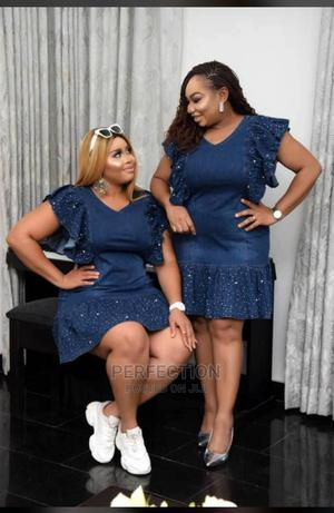 Turkey Jeans Gown | Clothing for sale in Lagos State, Ojo