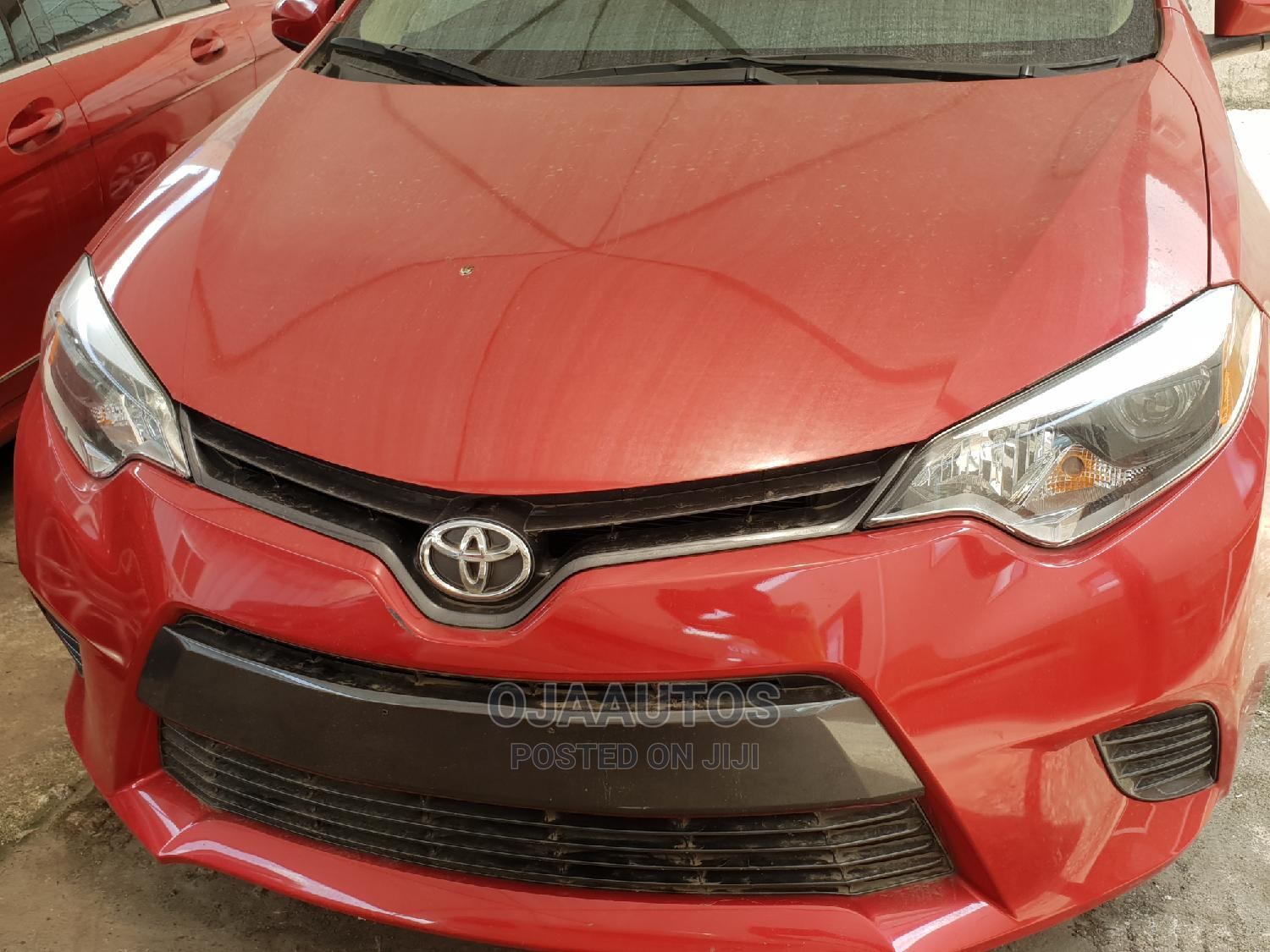 Toyota Corolla 2015 Red | Cars for sale in Maryland, Lagos State, Nigeria