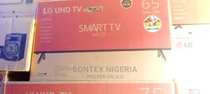 LG 65 Inches Smart Television | TV & DVD Equipment for sale in Lagos State, Ojo
