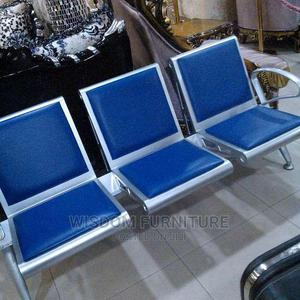 Executive Airport Chair With Leather   Furniture for sale in Lagos State, Ojo