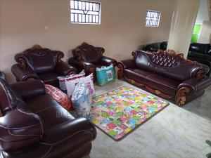 Royal Brown Sofa Chair Complete Set by 7 | Furniture for sale in Lagos State, Lekki