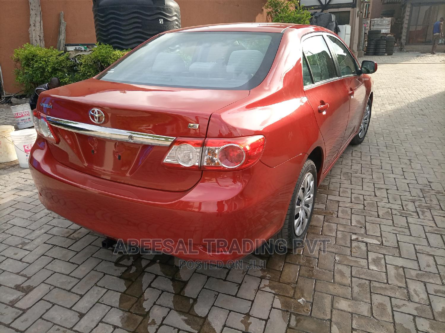 Toyota Corolla 2013 Red   Cars for sale in Yaba, Lagos State, Nigeria