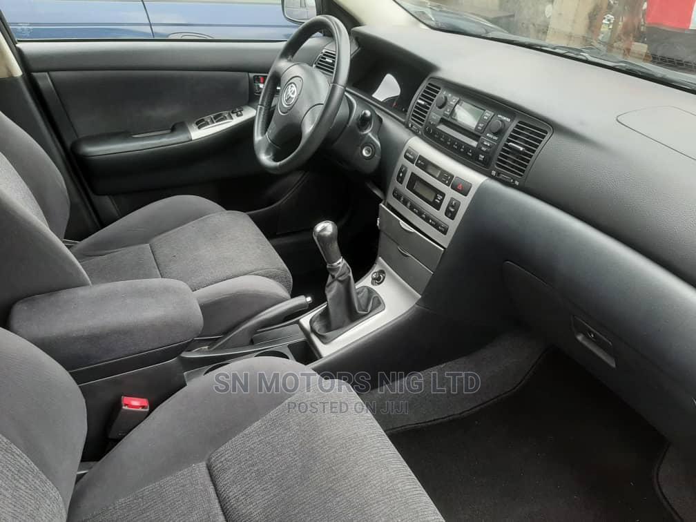 Archive: Toyota Corolla 2005 Liftback Silver