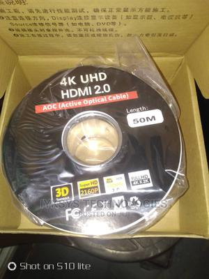 HDMI Active Optical Cable 50m | Accessories & Supplies for Electronics for sale in Lagos State, Lekki