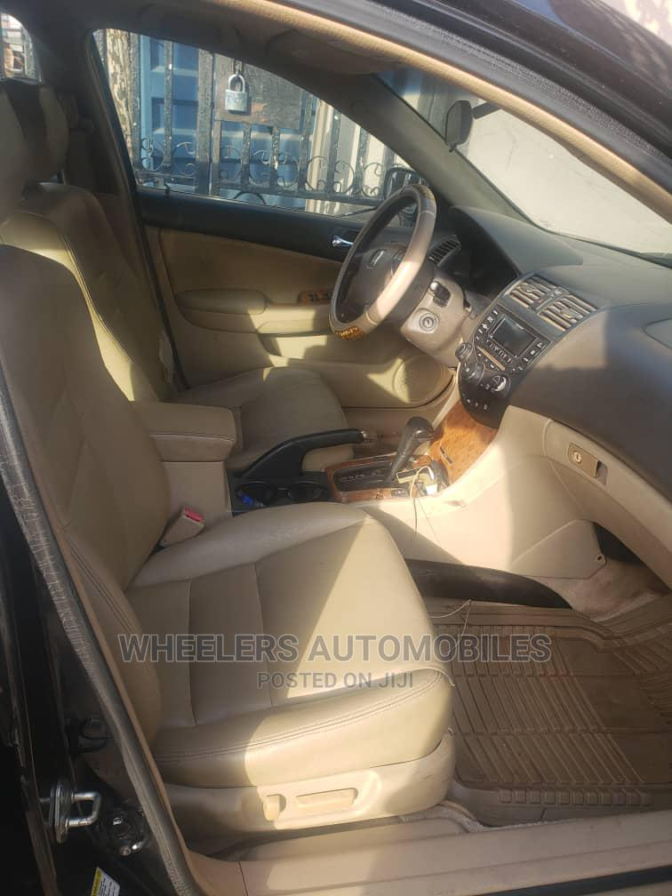 Honda Accord 2004 Sedan DX Black | Cars for sale in Amuwo-Odofin, Lagos State, Nigeria