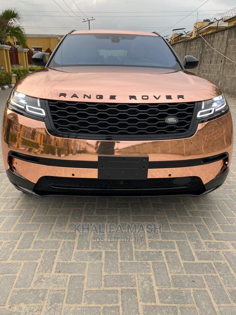 Land Rover Range Rover Velar 2019 P250 SE R-Dynamic 4x4 Gold