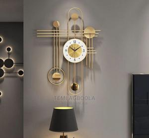 Beautiful Design Wall Clock | Home Accessories for sale in Lagos State, Ikeja