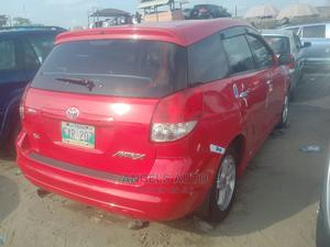 Toyota Matrix 2004 Red | Cars for sale in Lagos State, Apapa