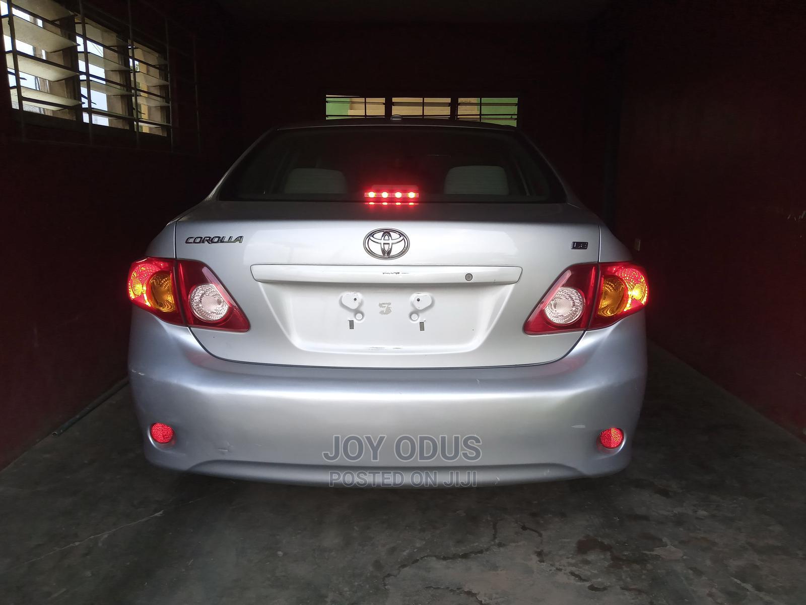 Toyota Corolla 2009 1.8 Exclusive Automatic Silver | Cars for sale in Ibadan, Oyo State, Nigeria