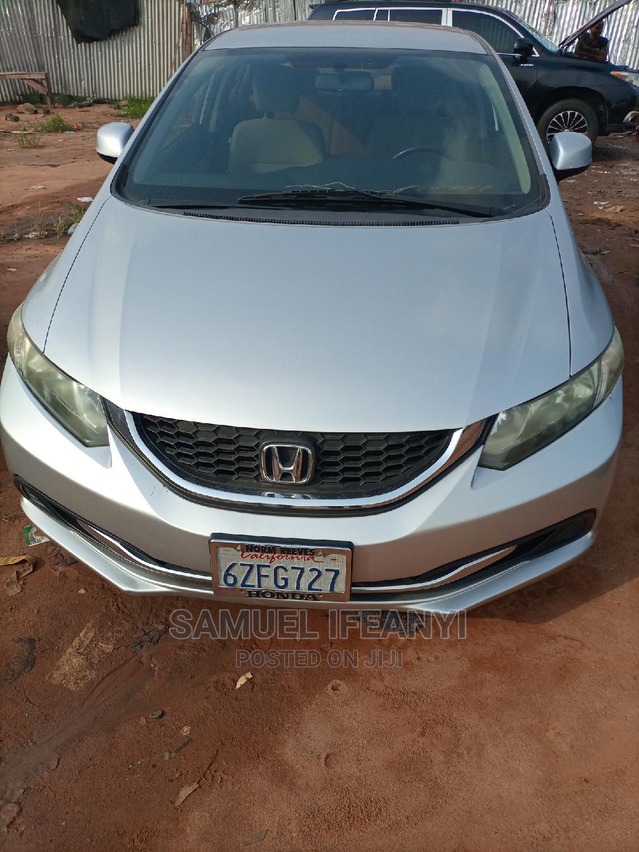 Honda Civic 2013 Sedan EX-L Silver