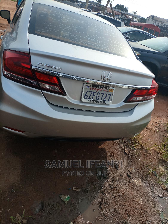 Honda Civic 2013 Sedan EX-L Silver | Cars for sale in Owerri, Imo State, Nigeria