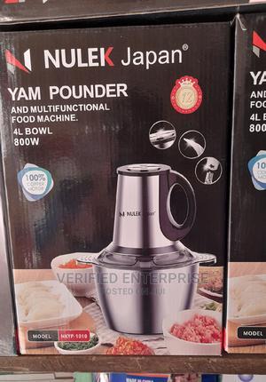Nulek Japan Yam Pounder - 4L | Kitchen Appliances for sale in Lagos State, Lagos Island (Eko)