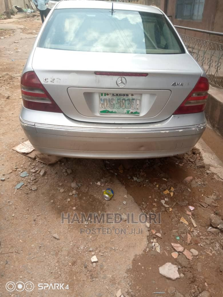Mercedes-Benz C240 2003 Silver | Cars for sale in Ibadan, Oyo State, Nigeria