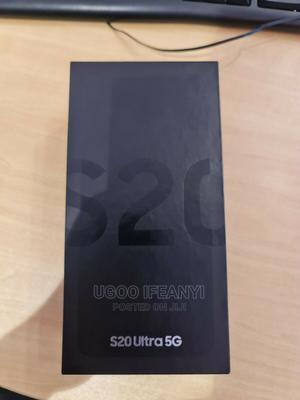 New Samsung Galaxy S20 Ultra 512 GB Black | Mobile Phones for sale in Lagos State, Ikeja