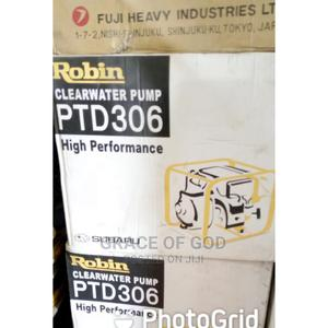 Robin Diesel Water Pump 3inches PTD306 (Japan) | Plumbing & Water Supply for sale in Lagos State, Ikeja