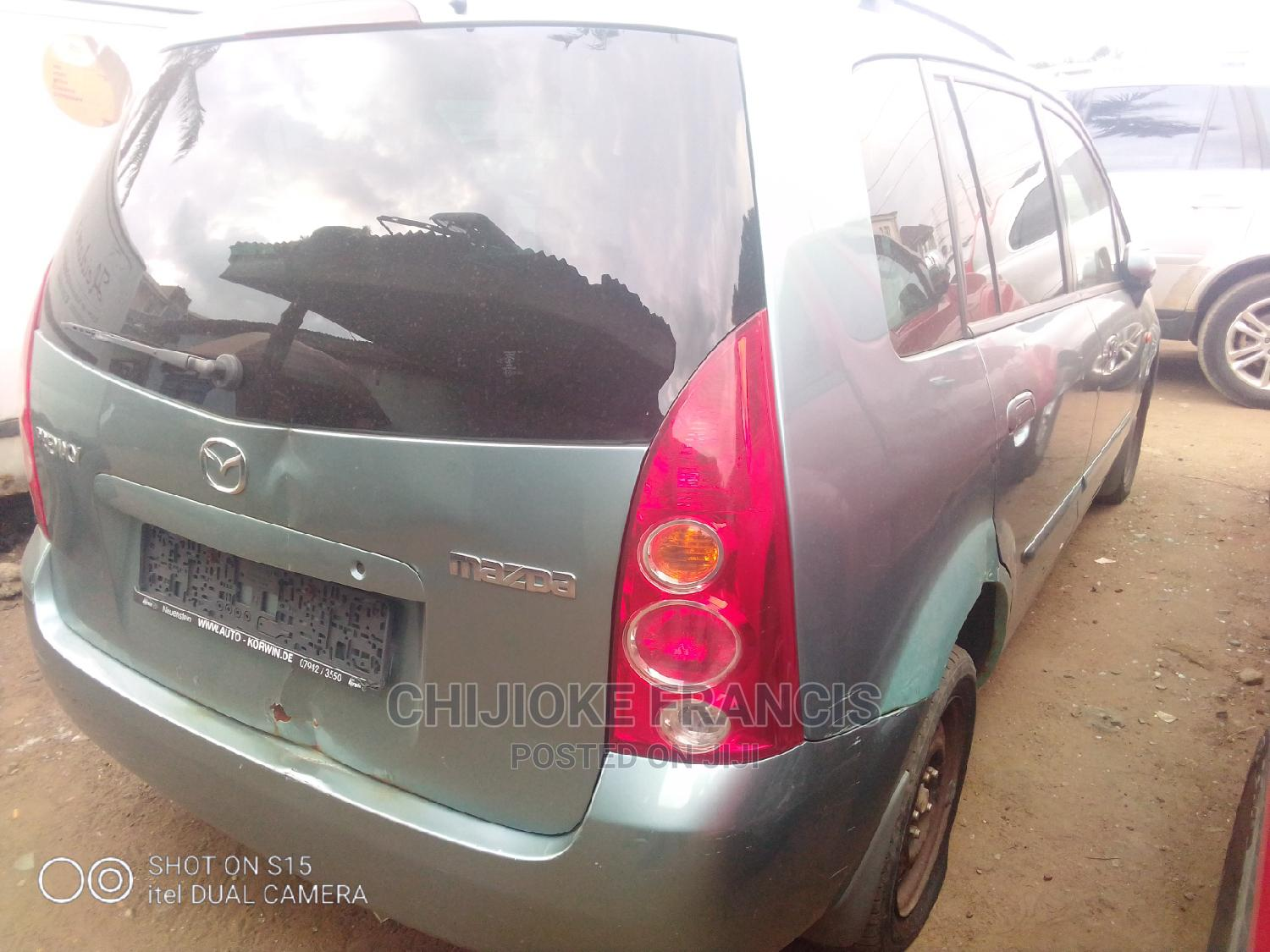 Archive: Mazda Premacy 2004 2.0 TD Exclusive Green