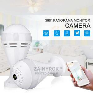 1080p Hidden Wifi Camera Light Bulb Mini Security Panorama | Security & Surveillance for sale in Lagos State, Alimosho