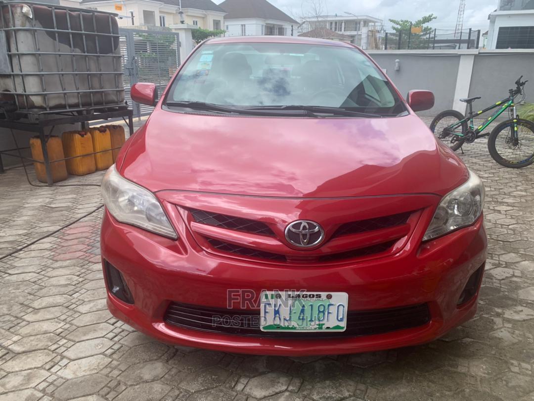 Toyota Corolla 2012 Red