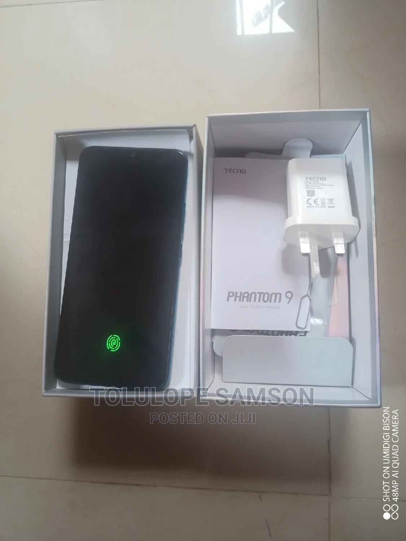 Tecno Phantom 9 128 GB Blue   Mobile Phones for sale in Ojodu, Lagos State, Nigeria