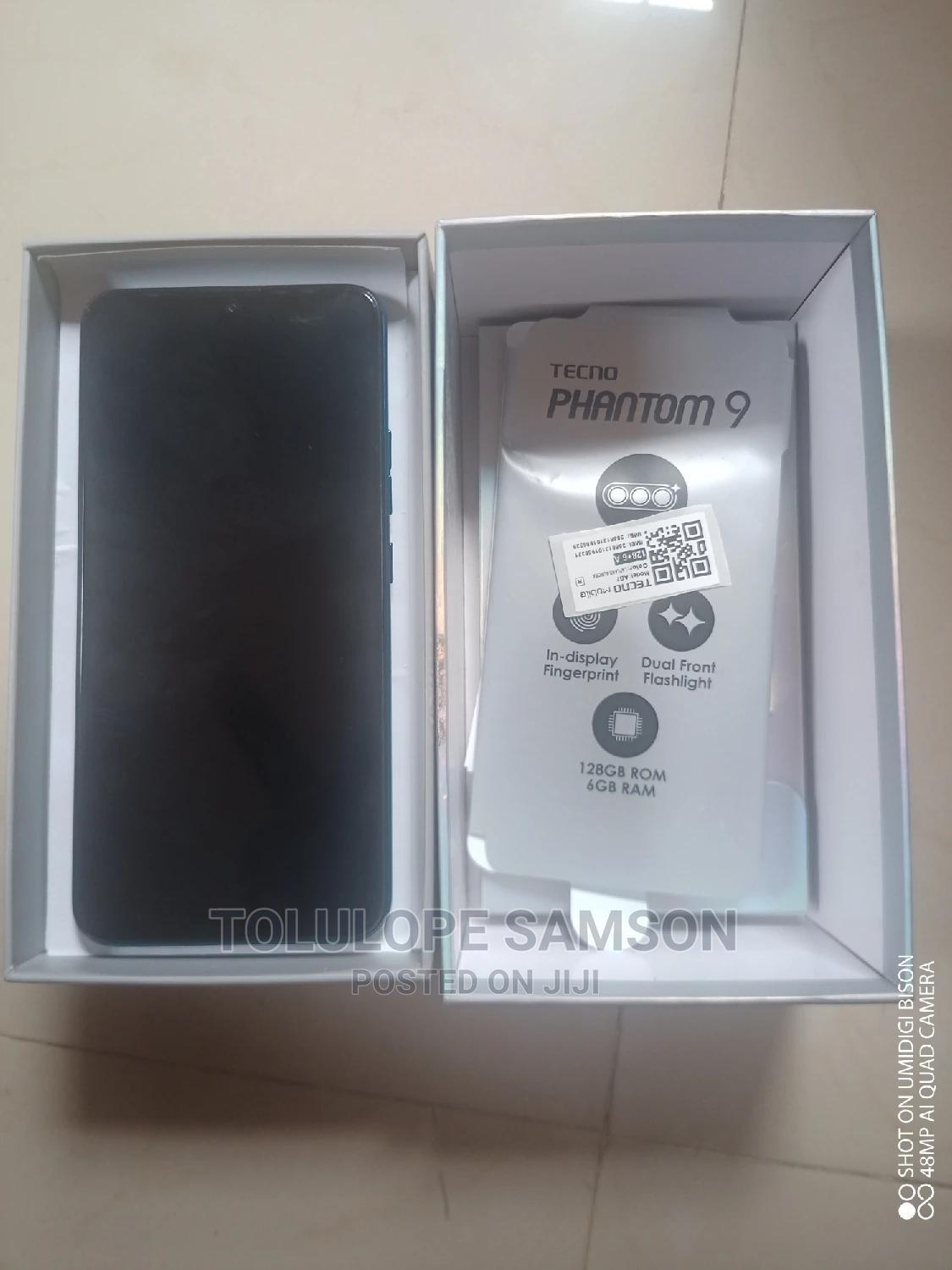 Tecno Phantom 9 128 GB Blue | Mobile Phones for sale in Ojodu, Lagos State, Nigeria