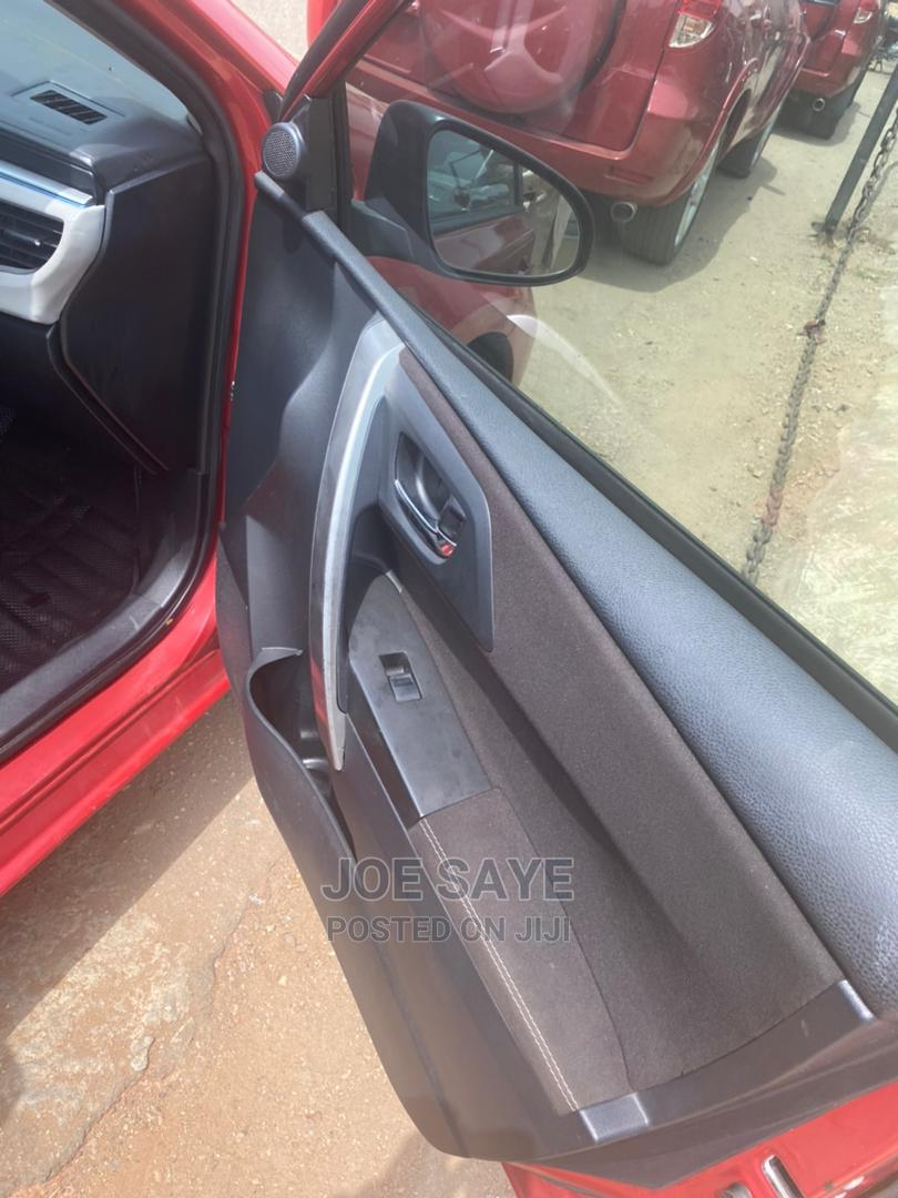 Toyota Corolla 2013 Red | Cars for sale in Ikeja, Lagos State, Nigeria