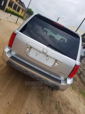 Honda Pilot 2004 LX 4x4 (3.5L 6cyl 5A) Silver | Cars for sale in Lagos State, Lagos Island (Eko)