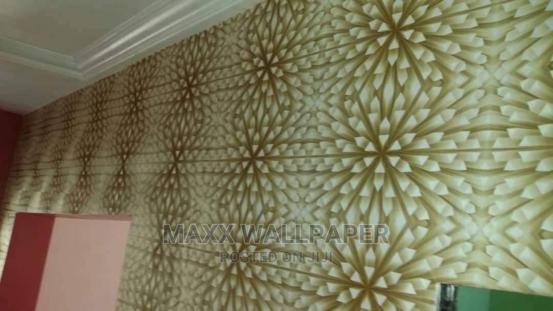Wallpaper a Roll of 16.5squaremeter Over 200designs | Home Accessories for sale in Maitama, Abuja (FCT) State, Nigeria
