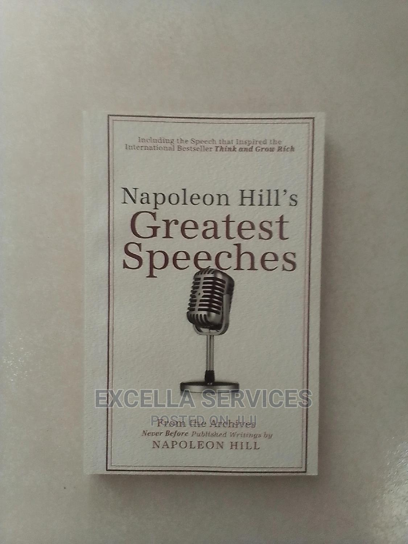 Greatest Speech by Napoleon Hill
