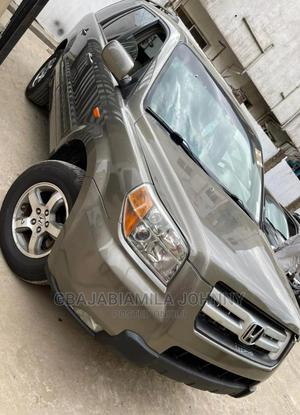 Honda Pilot 2007 EX 4x2 (3.5L 6cyl 5A) Gray | Cars for sale in Lagos State, Ikeja