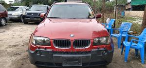 BMW X3 2007 2.5i Red   Cars for sale in Lagos State, Amuwo-Odofin