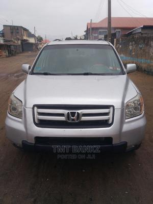 Honda Pilot 2006 EX-L 4x4 (3.5L 6cyl 5A) Silver | Cars for sale in Lagos State, Ojo