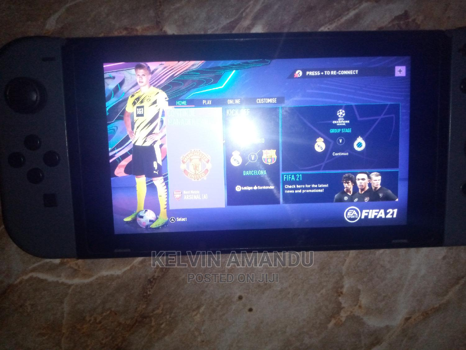Archive: Nitendo Switch With Fifa 21