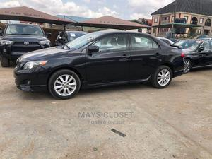Toyota Corolla 2009 Black   Cars for sale in Lagos State, Amuwo-Odofin