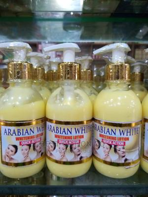 Arabian White Whitening Lotion Quick Action | Skin Care for sale in Lagos State, Alimosho