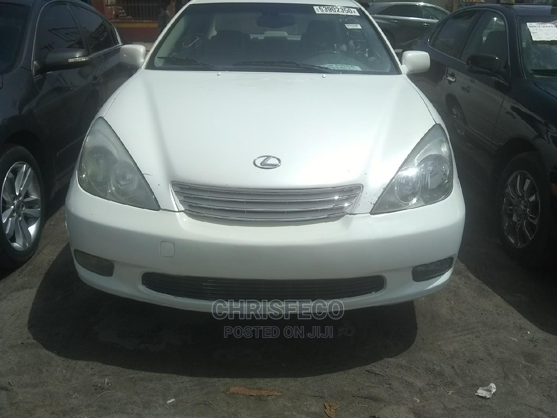 Lexus ES 2004 White