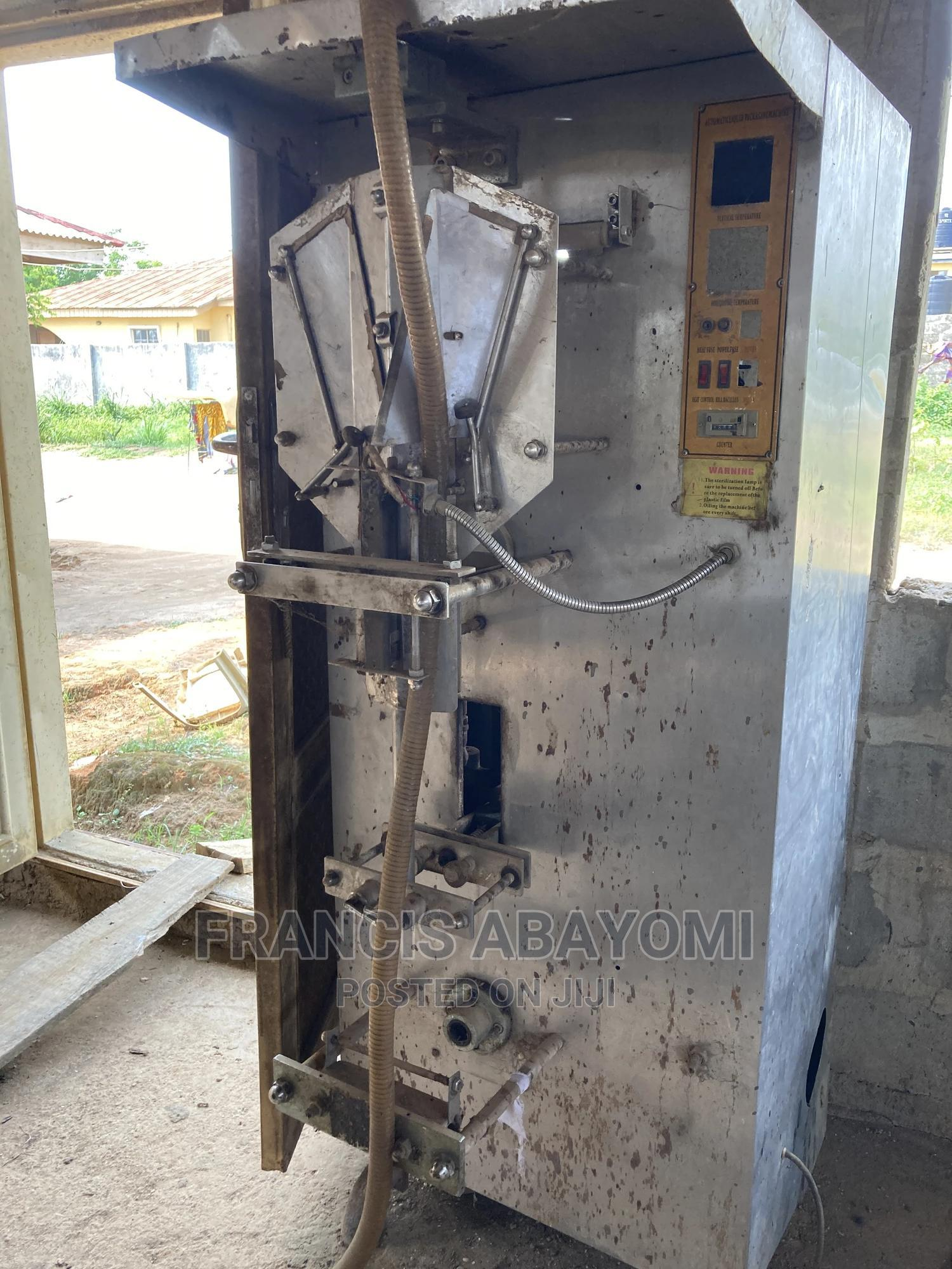 Archive: Water Treatment Plant and Water Packaging Machine