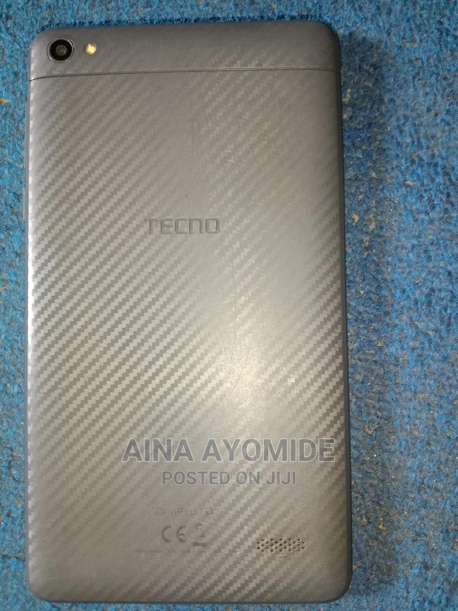 Archive: Tecno DroiPad 7D 16 GB Black