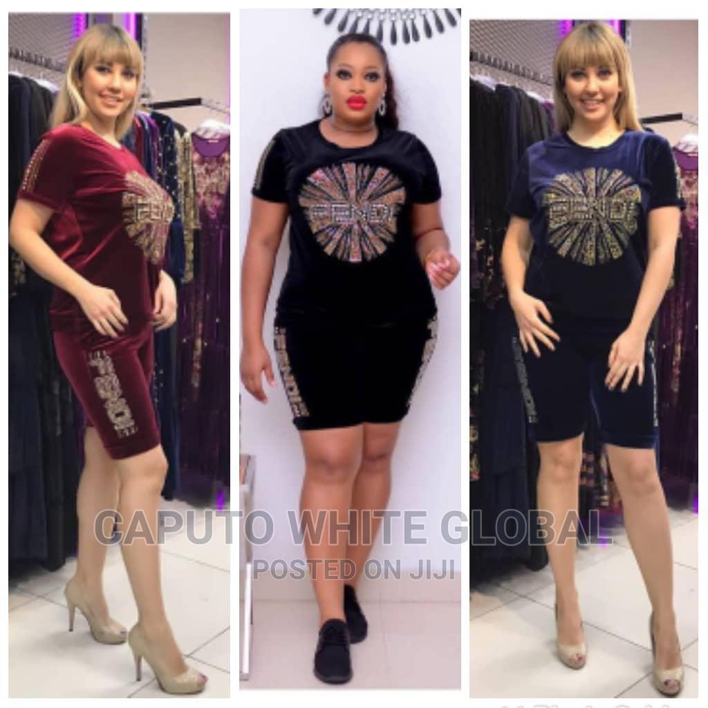 Latest Female Velvet Short and Top