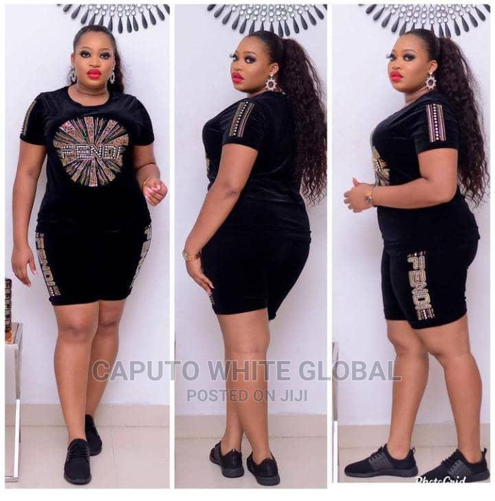 Latest Female Velvet Short and Top | Clothing for sale in Ikeja, Lagos State, Nigeria