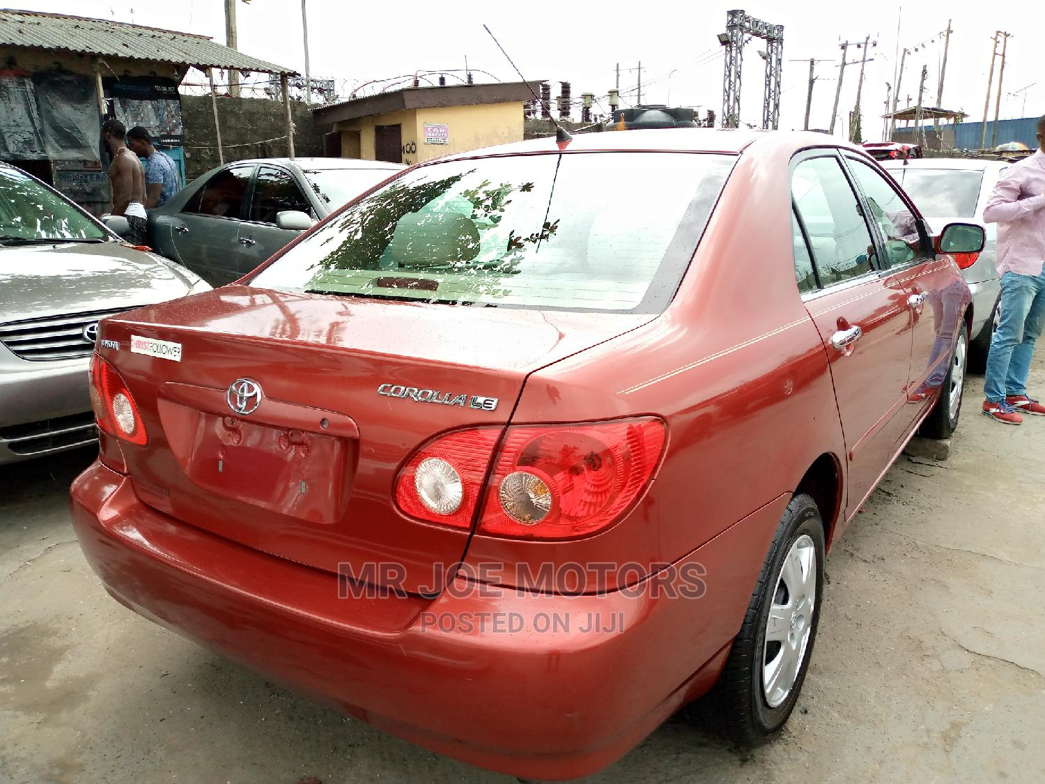 Toyota Corolla 2008 Red | Cars for sale in Apapa, Lagos State, Nigeria