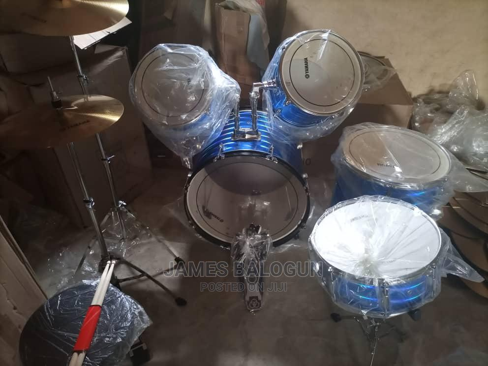 Quality 5 Set Yamaha Drum | Musical Instruments & Gear for sale in Lagos Island (Eko), Lagos State, Nigeria