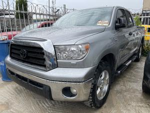 Toyota Tundra 2007 SR5 Double Cab Gray | Cars for sale in Lagos State, Ikeja