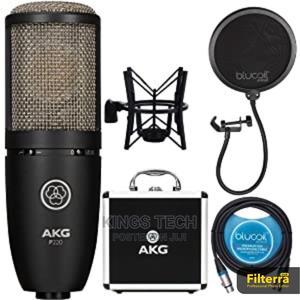 AKG P220 Large Diaphragm Studio Microphone | Audio & Music Equipment for sale in Lagos State, Ikeja