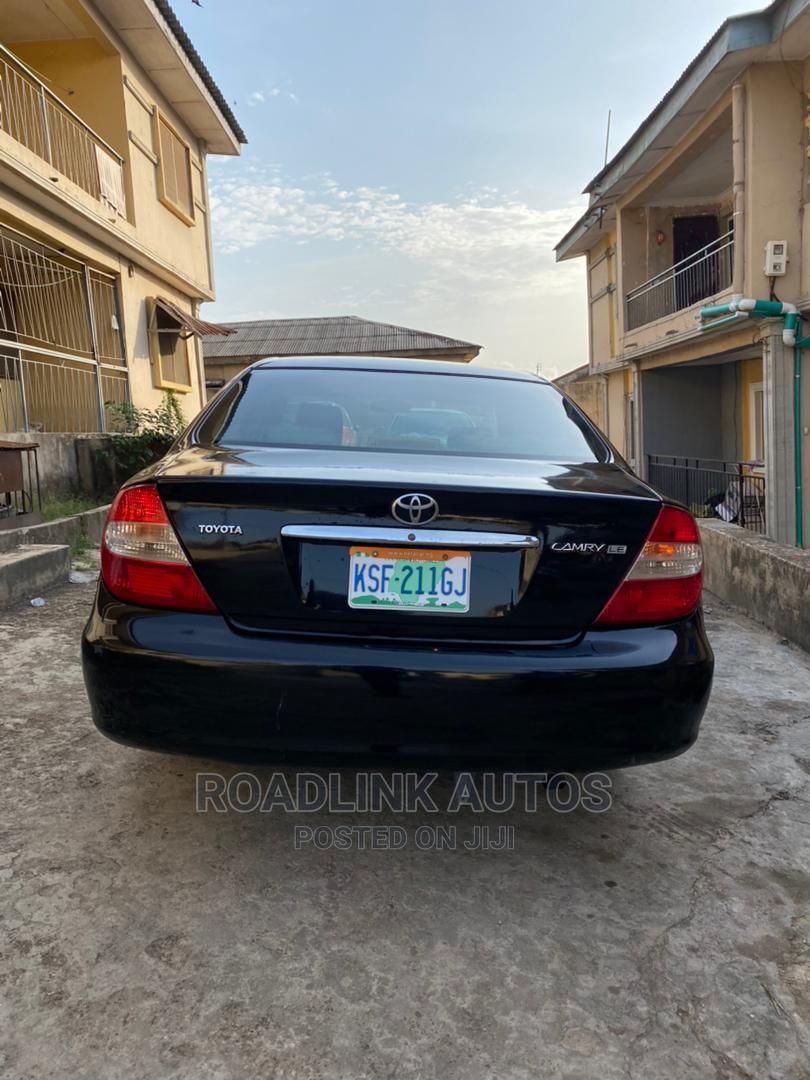 Archive: Toyota Camry 2004 Black