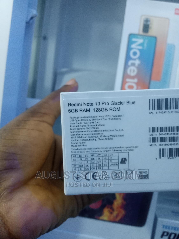 New Xiaomi Redmi Note 10 Pro 128 GB Blue | Mobile Phones for sale in Ikeja, Lagos State, Nigeria