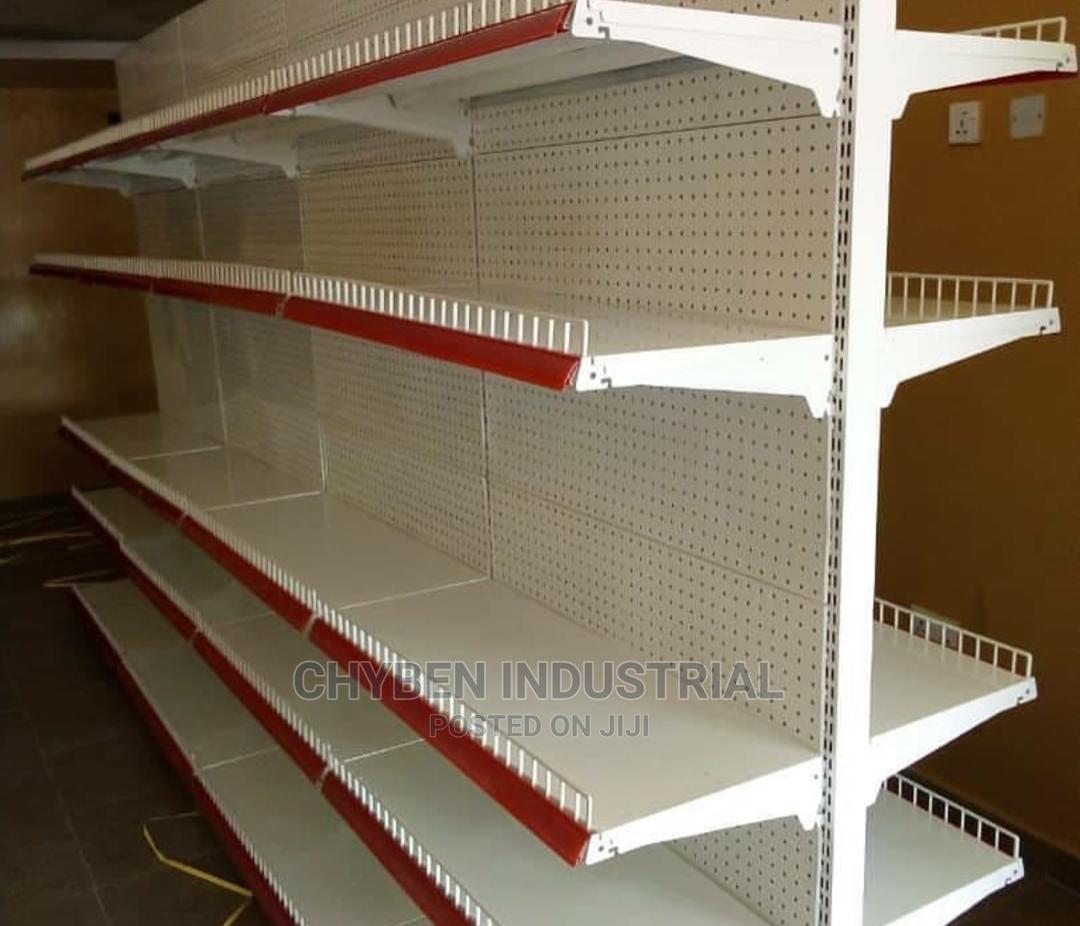 Archive: Double Supermarket Shelf