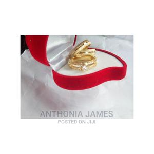 Romania Gold Engagement And Wedding Ring | Wedding Wear & Accessories for sale in Lagos State, Victoria Island